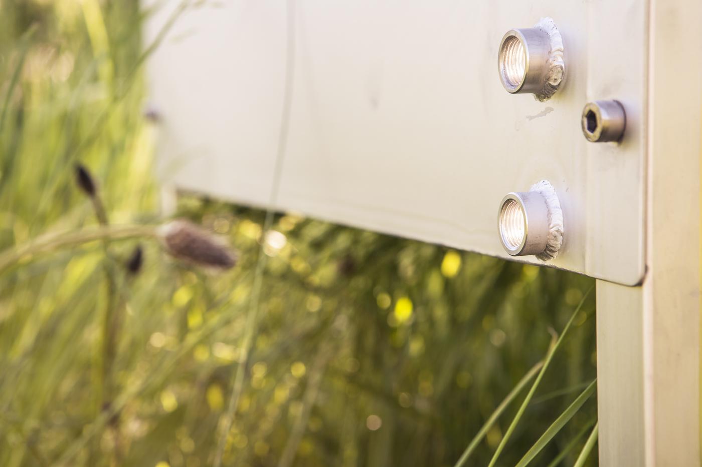 Eine frostsichere Abflussöffnung verhindert Staunässe